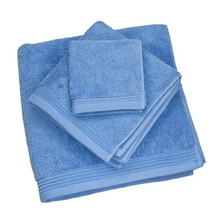 Austin Horn Classics Townsend Blue Terry Cotton Towel Set