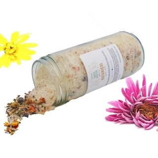 Botanical Foot Soak with Himalayan Salt, Juniper Berries, Soothing Oatmeal by Krafters Krafters Apothecary