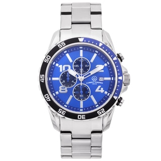 Aubert Freres Men's Stainless Steel Robuchon Chronograph Sport Watch