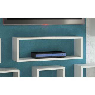 Accentuations by Manhattan Comfort Tichla Rectangle Floating Shelf 1.0