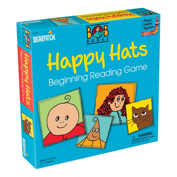 BOB Books Happy Hats Beginning Reading Game