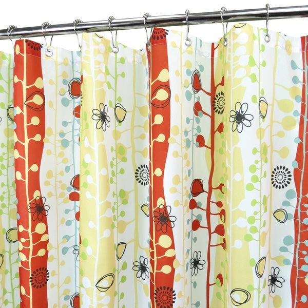 Park B Smith Sprouting Stripes Watershed Shower Curtain