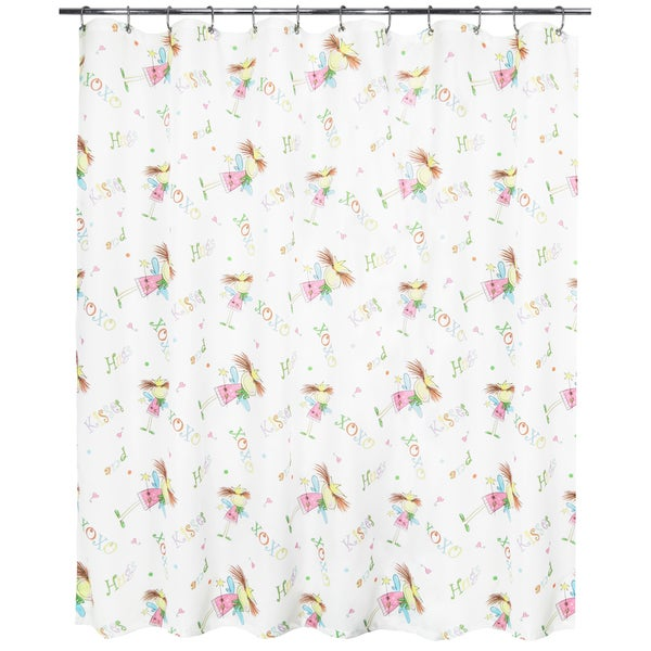 Park B. Smith Fairy Luv Watershed Shower Curtain