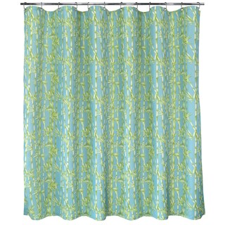 park b smith bamboo garden watershed shower curtain