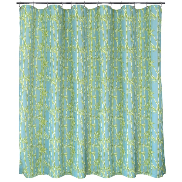 Shop Park B Smith Bamboo Garden Watershed Shower Curtain