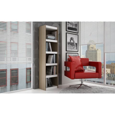 Accentuations by Manhattan Comfort Valuable Parana Bookcase 2.0 with 5-Shelves