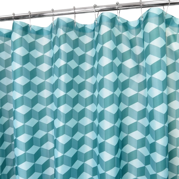 Park B. Smith Cube Watershed Shower Curtain