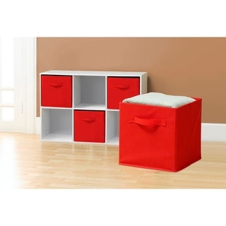 Green Collapsible Storage Cube (Pack Of 6)