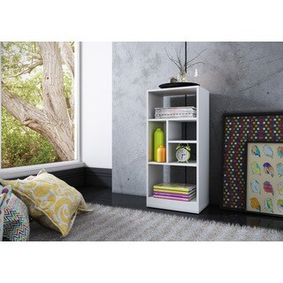 Accentuations by Manhattan Comfort Durable Valenca Bookcase 2.0 with 5-Shelves