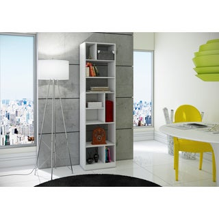 Accentuations by Manhattan Comfort Durable Valenca Bookcase 4.0 with 10-Shelves