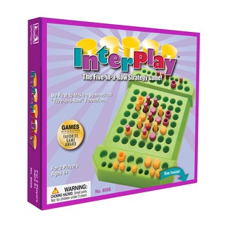 InterPlay The Five-in-a-Row Strategy Game