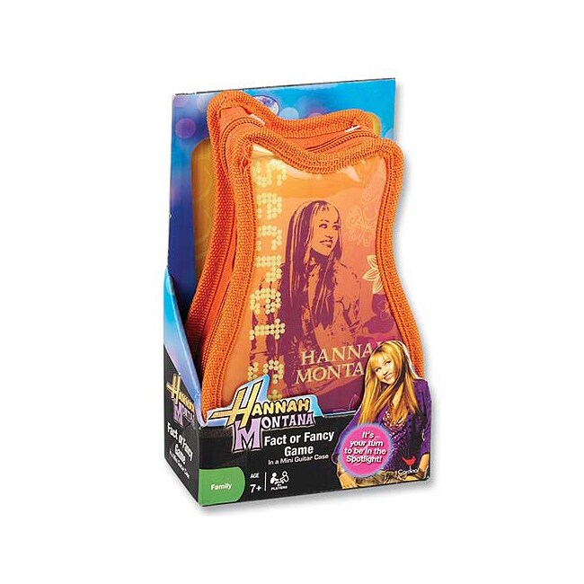 Cardinal Hannah Montana Card Game in Guitar-Shaped Portfo...