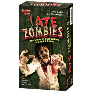 I Ate Zombies Card Game - Red/Green