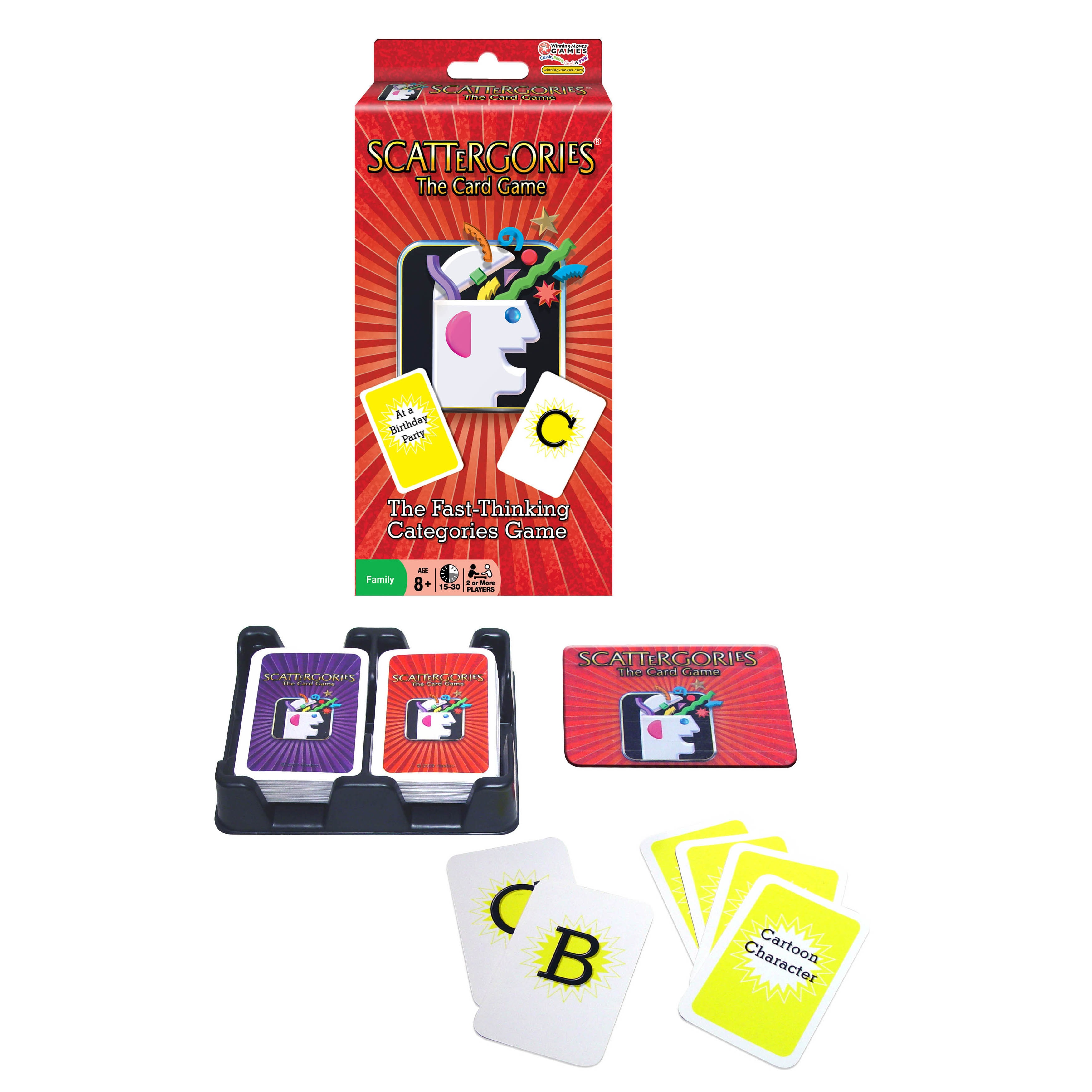 Winning Moves Scattergories: The Card Game, Brown sand