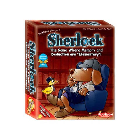 Playroom Entertainment Sherlock Family Memory Game