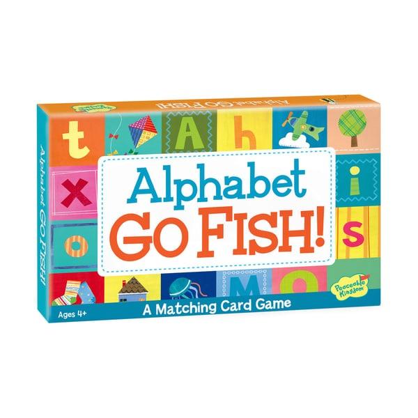 Shop Alphabet Go Fish Card Game