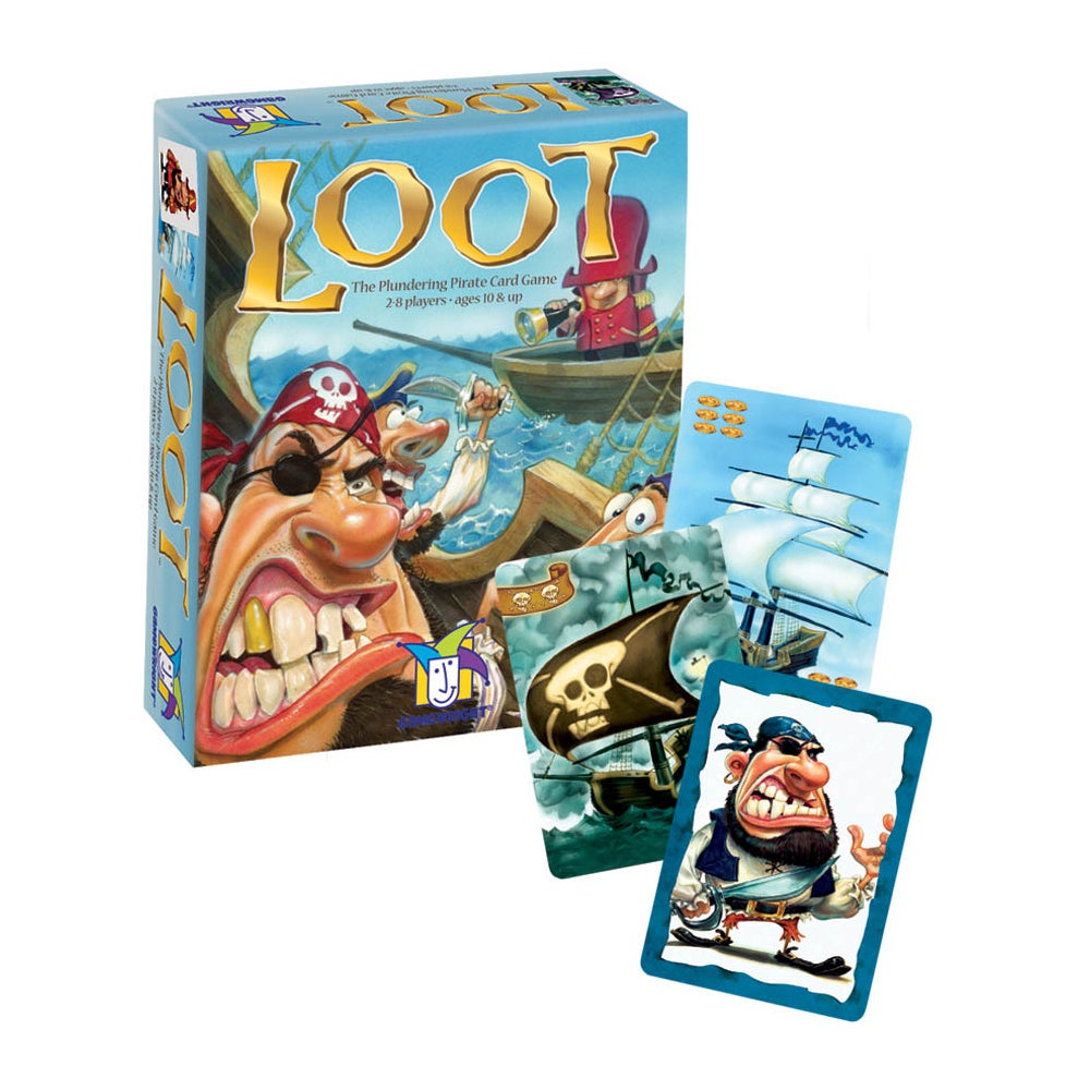 Game Wright Loot Card Game, Blue storm