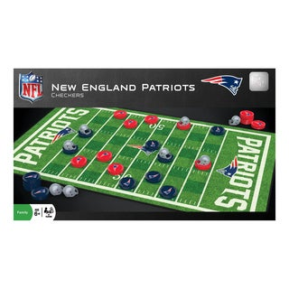 NFL Checkers New England Patriots