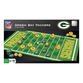 NFL Checkers Green Bay Packers