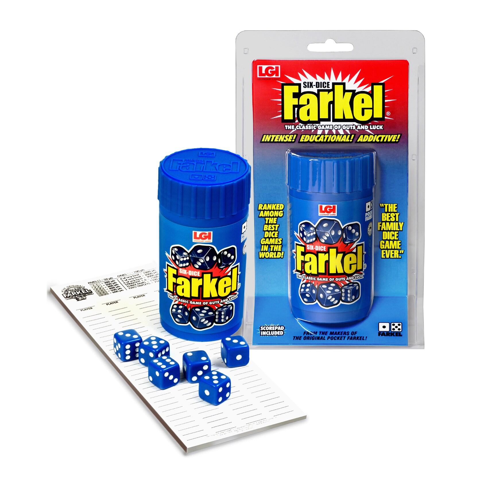 Legendary Games Six-Dice Farkel (Classic)