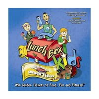 LunchBox Kids Health and Fitness Educational Board Game