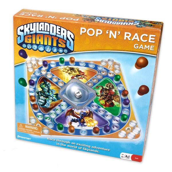 Skylanders - Pop 'N' Race Game