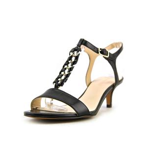Nine West Women's 'Yocelin' Black Leather Sandals