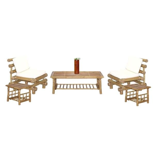 Payang 6-piece Bamboo Outdoor Patio Set (Vietnam)