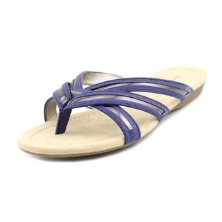 Bandolino Women's 'Naccari' Blue Synthetic Sandals