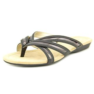 Bandolino Women's 'Naccari' Black Synthetic Sandals