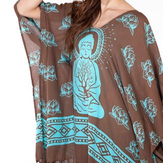 Meditating Buddha Poncho Dress (Indonesia)