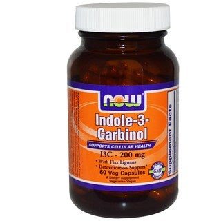 Now Foods Indole-3-Carbinol 200mg (60 Veggie Capsules)
