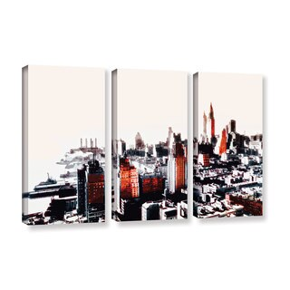 ArtWall Niel Hemsley's New York 3-piece Gallery Wrapped Canvas Set