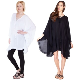 Simple Summery Peasant Poncho (Indonesia)