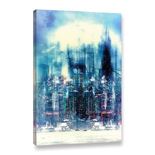 ArtWall Niel Hemsley's New City Gallery Wrapped Canvas