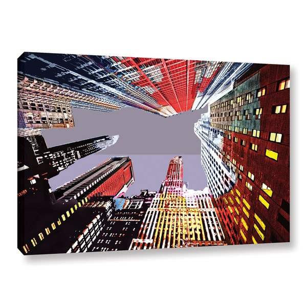 ArtWall Niel Hemsley's Look Up Gallery Wrapped Canvas