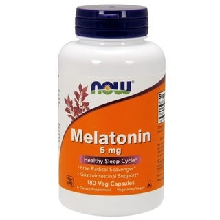 Now Foods High Potency 5mg Melatonin (180 vcaps)