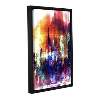 ArtWall Niel Hemsley's Light  Gallery Wrapped Floater-framed Canvas