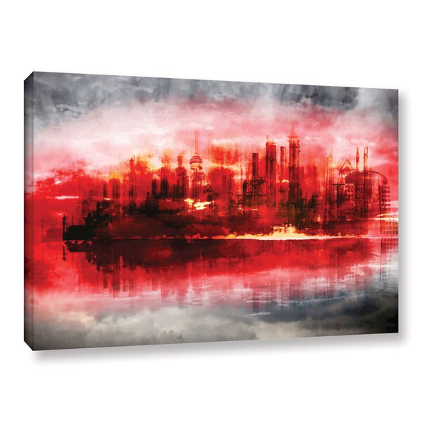 ArtWall Niel Hemsley's Industrial IV Gallery Wrapped Canvas