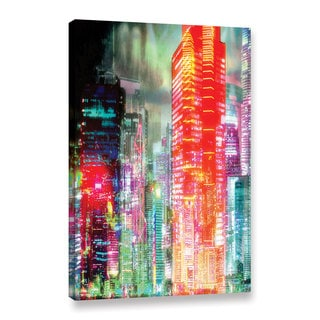 ArtWall Niel Hemsley's 2059 Gallery Wrapped Canvas