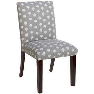 Skyline Furniture Uptown Hand Flora Greystone Dining Chair