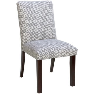 Skyline Furniture Uptown Cross Section Charcoal Dining Chair