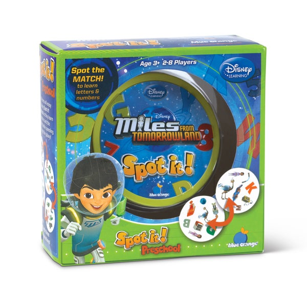 Spot it Preschool Disney Miles from Tomorrowland