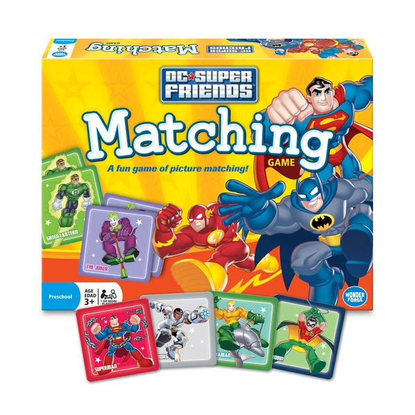DC Super Friends Matching Game