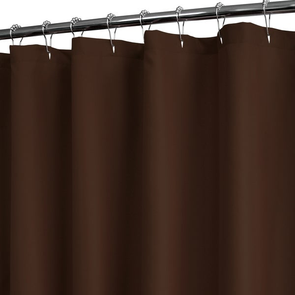 Park B Smith Watershed Brown Polyester Shower Curtain