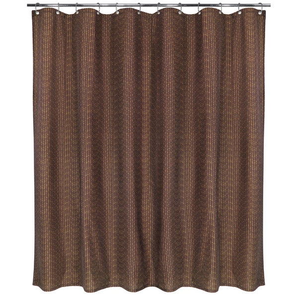 Park B Smith Bamboo Basket Watershed Shower Curtain