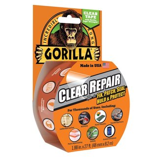 GORILLA TAPE CLEAR 27 FEET