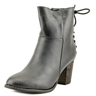 a.x.n.y. Women's 'Alpha-7' Faux Leather Boots