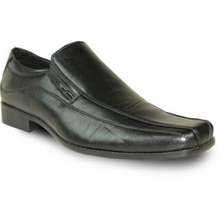BRAVO Men Dress Shoe MONACO-1 Loafer Black