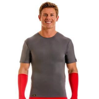 Insta Slim Men's Pro Active Wear Compression Crew-neck T-shirt (More options available)